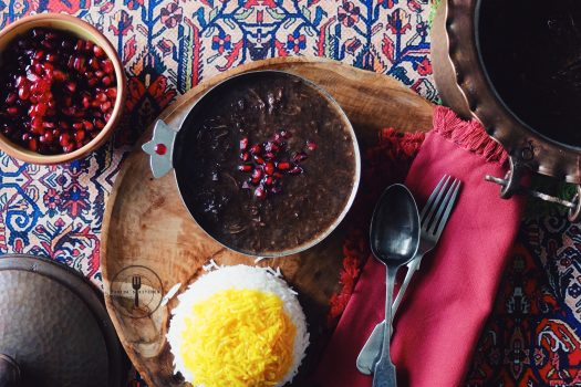 A RECIPE FOR YALDA BY FARIDAH MOUSAWI